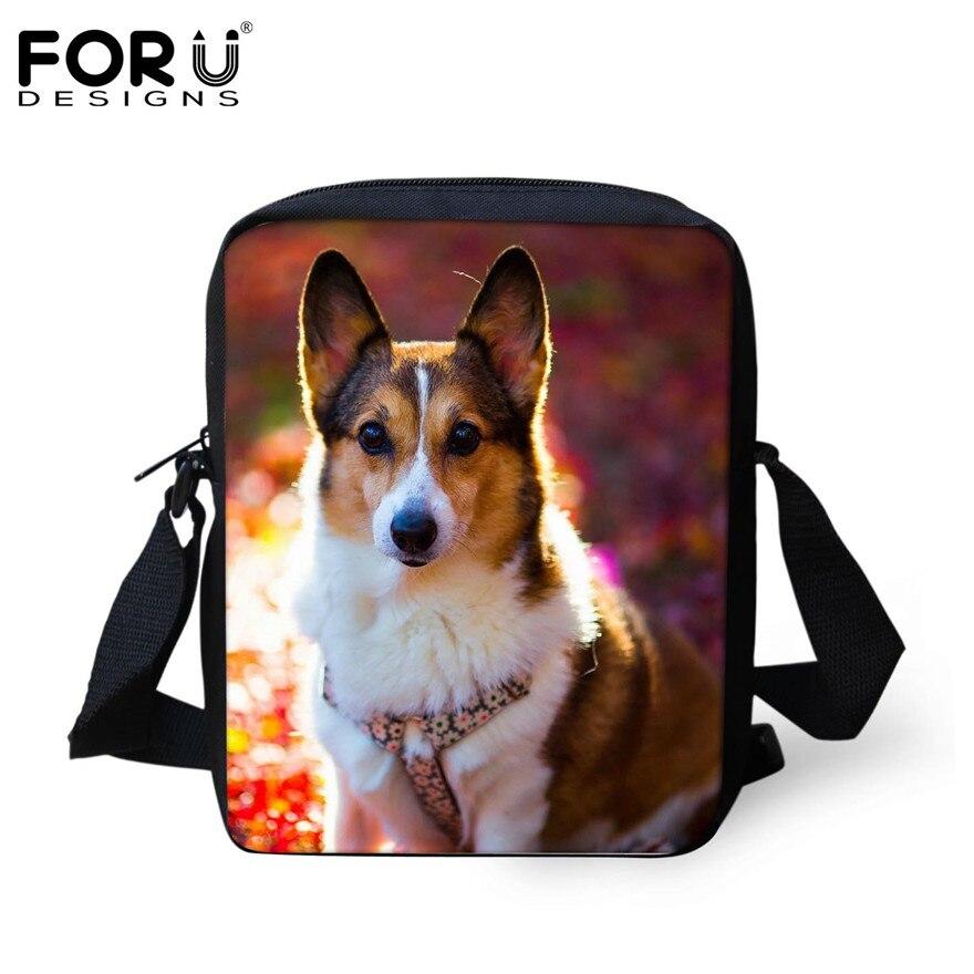 FORUDESIGNS/женская маленькая сумка через плечо с объемным рисунком собаки чихуахуа, модные женские сумки-мессенджеры, сумки через плечо - Цвет: H157E