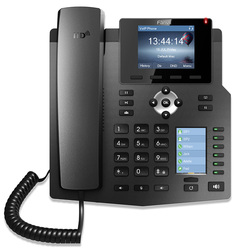 Original Fanvil X4 IP Phone Enterprise Desktop Phone HD Voice With Intelligent DSS Key-mapping LCD Display And 4 SIP Lines