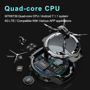 Image 5 - MOKA 4Gสมาร์ทนาฬิกาผู้ชาย400*400หน้าจอAMOLED Android 7.1 MTK6739 5MP Dualกล้องGPS WiFi smartwatchสำหรับIos