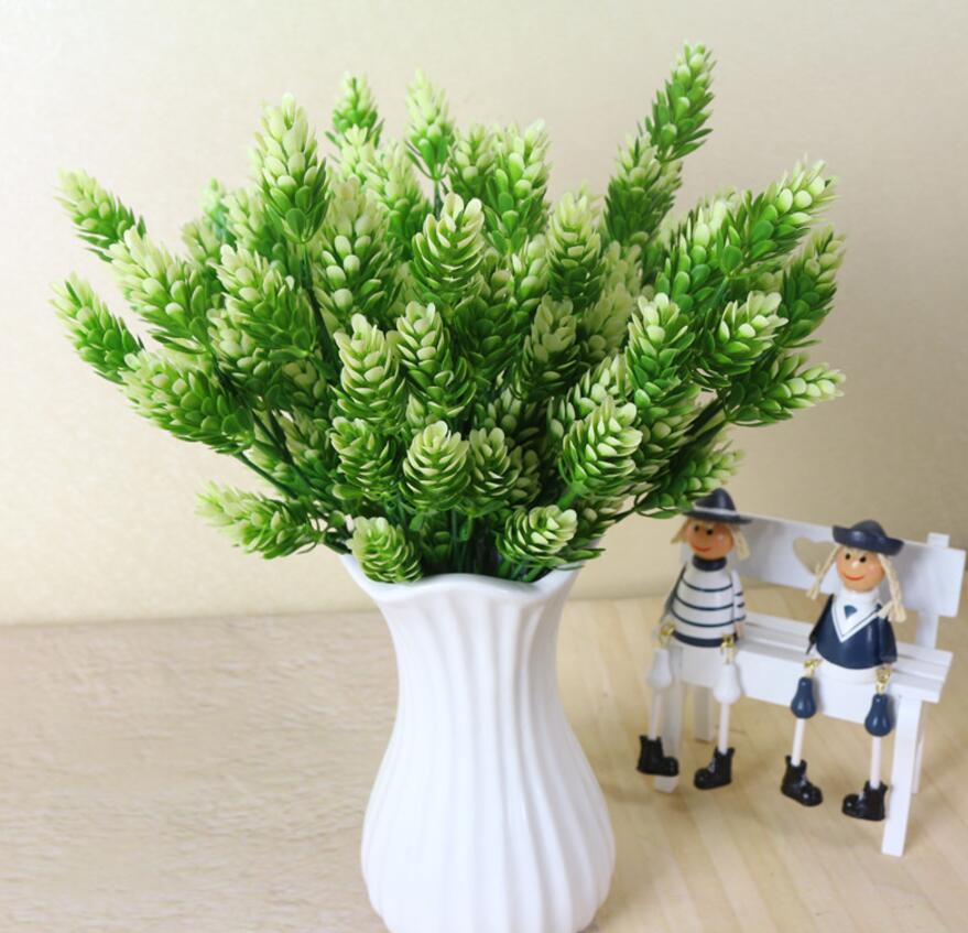 6pcs Artificial Pine Cypress Branch Greenery For Plant Wall Background Wedding Party Home Hotal Office Bar Decorative