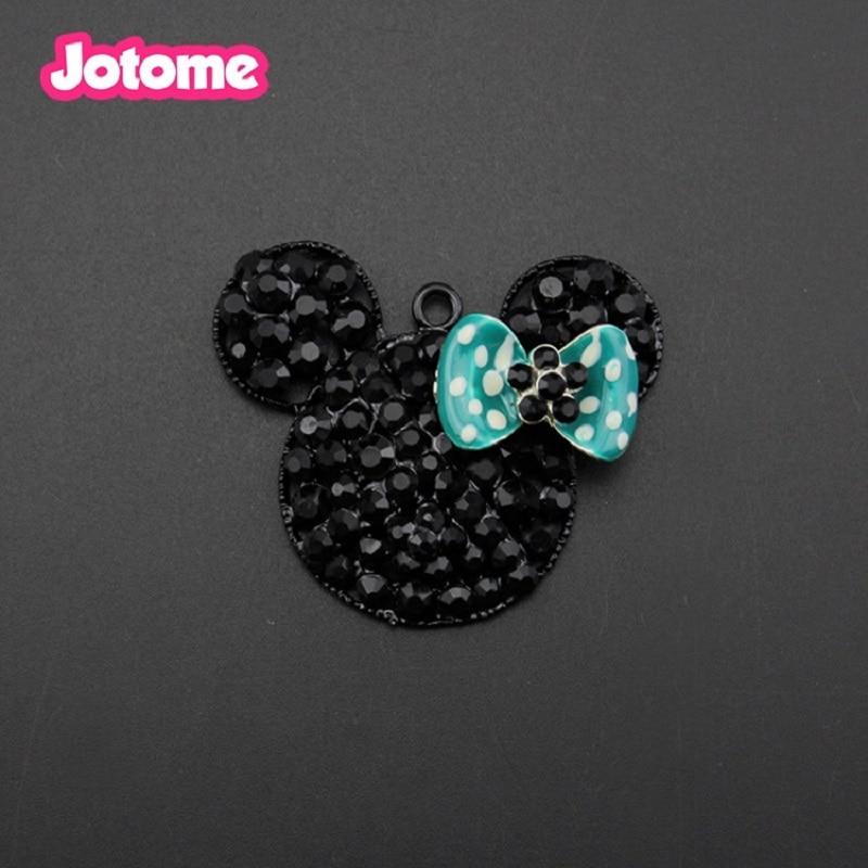 tamaño 7//8 Diademas cabello arcos Crafts 1 metros Rosa Impresión Tigre Cinta De Minnie Mouse