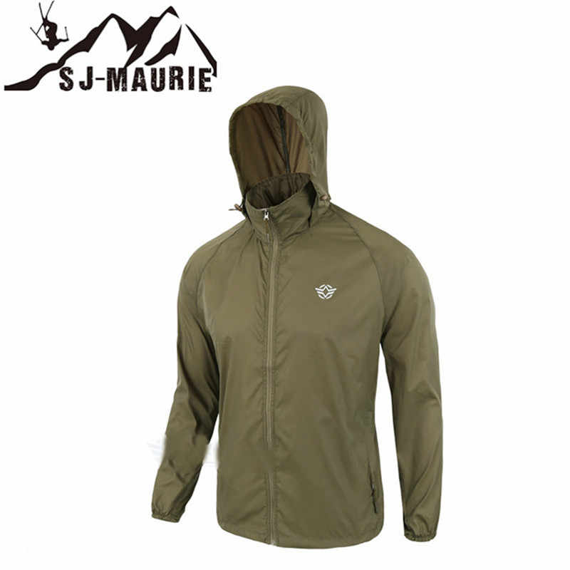 女性ジャケット男性の戦術狩猟防水ウインドブレーカーすぐにハイキングジャケット迷彩抗 Uv アウトドアスポーツコート