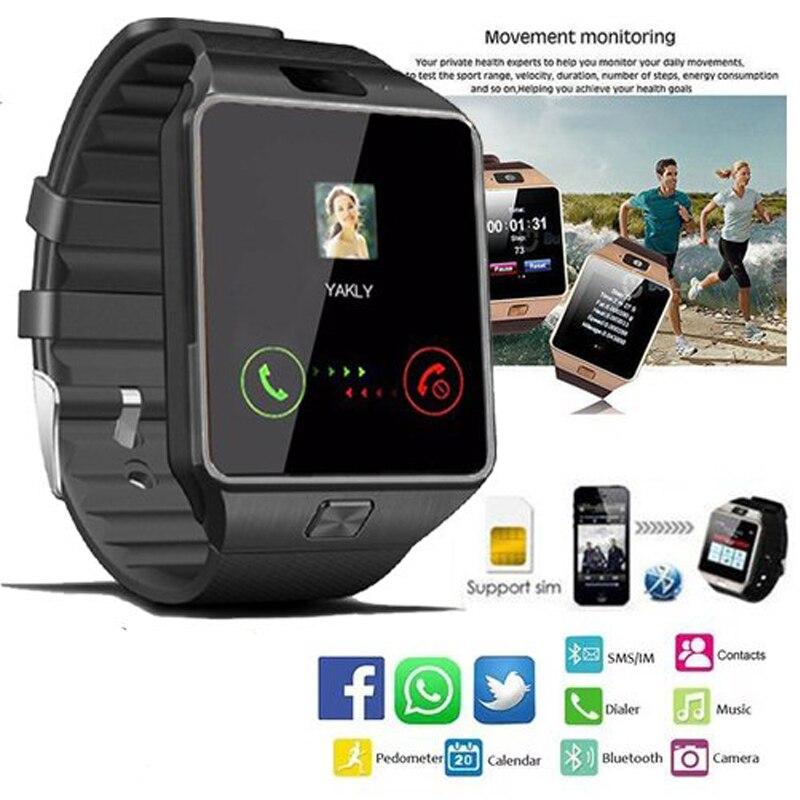 2018 Neue Dz09 Smart Uhr Männer Schrittzähler Bluetooth Anruf Sim Tf Mit Kamera Männer Der Geräte Sport Smartwatch Für Ios Iphone