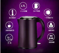 Electric kettle 304 stainless steel heat insulation open water automatic power supply
