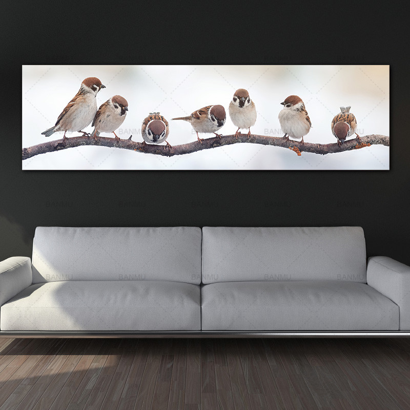canvas painting art print birds wall picture canvas and posters picture decoration for living room no frame wall art Painting