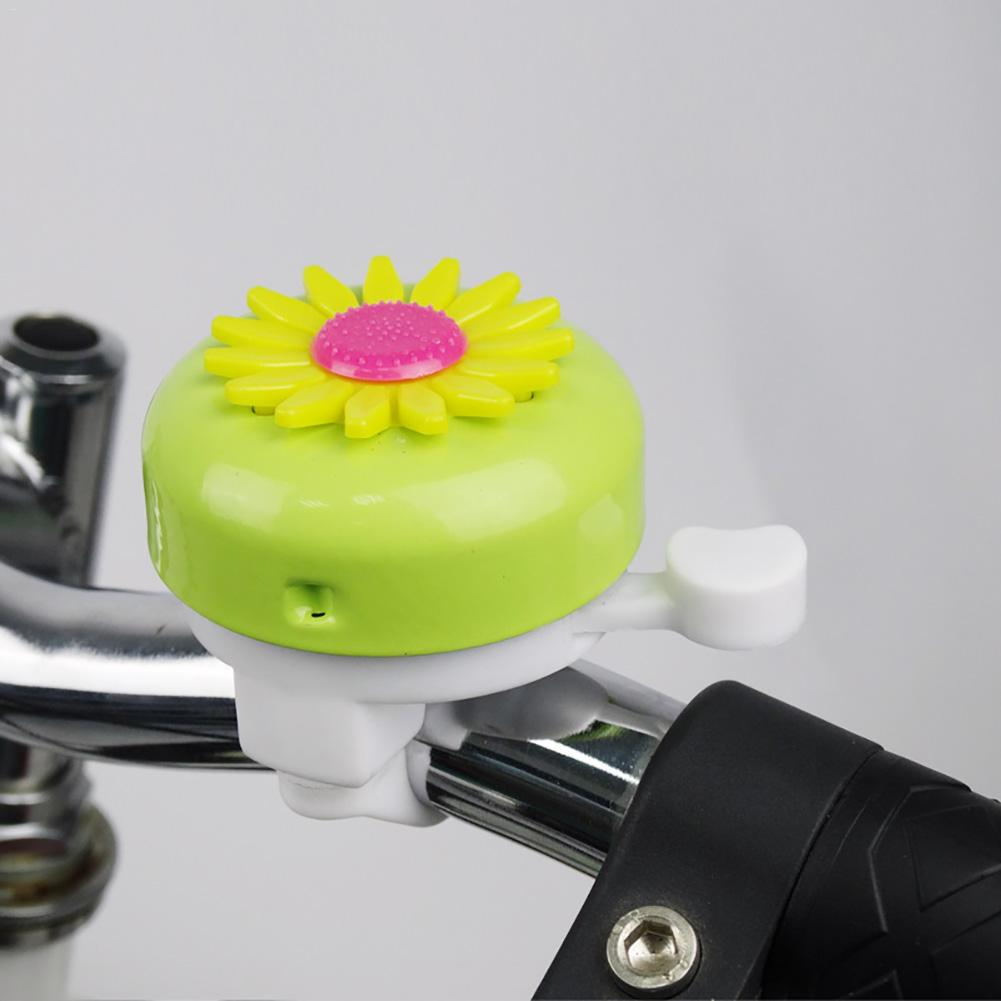Bicycle Accessories 17 Colors Optional Multicolor Cute Flower Bike Bicycle Cycling Handlebar Ring Horn Sound Sunflower Bell Alarm