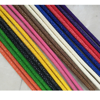 Beichong Real Stingray Leather cord 5mm Diameter Colorful Cord for Stingray Bracelet Making