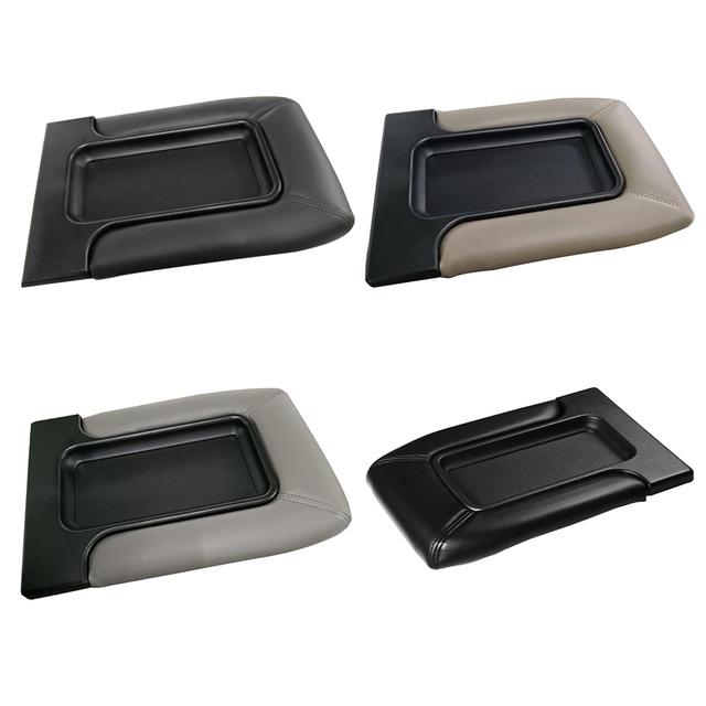 Car Interior Accessories Auto Center Console Lid Kit Armrest Cover for Chevrolet Suburban 2001-2006 1