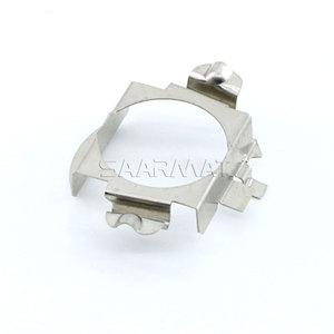 Image 4 - 2x H7 Led Adapter Base Koplamp Lamp Speciale Metalen Clip Retainer Sockets Voor Mercedes C E Ml Clk Gla Gl gls