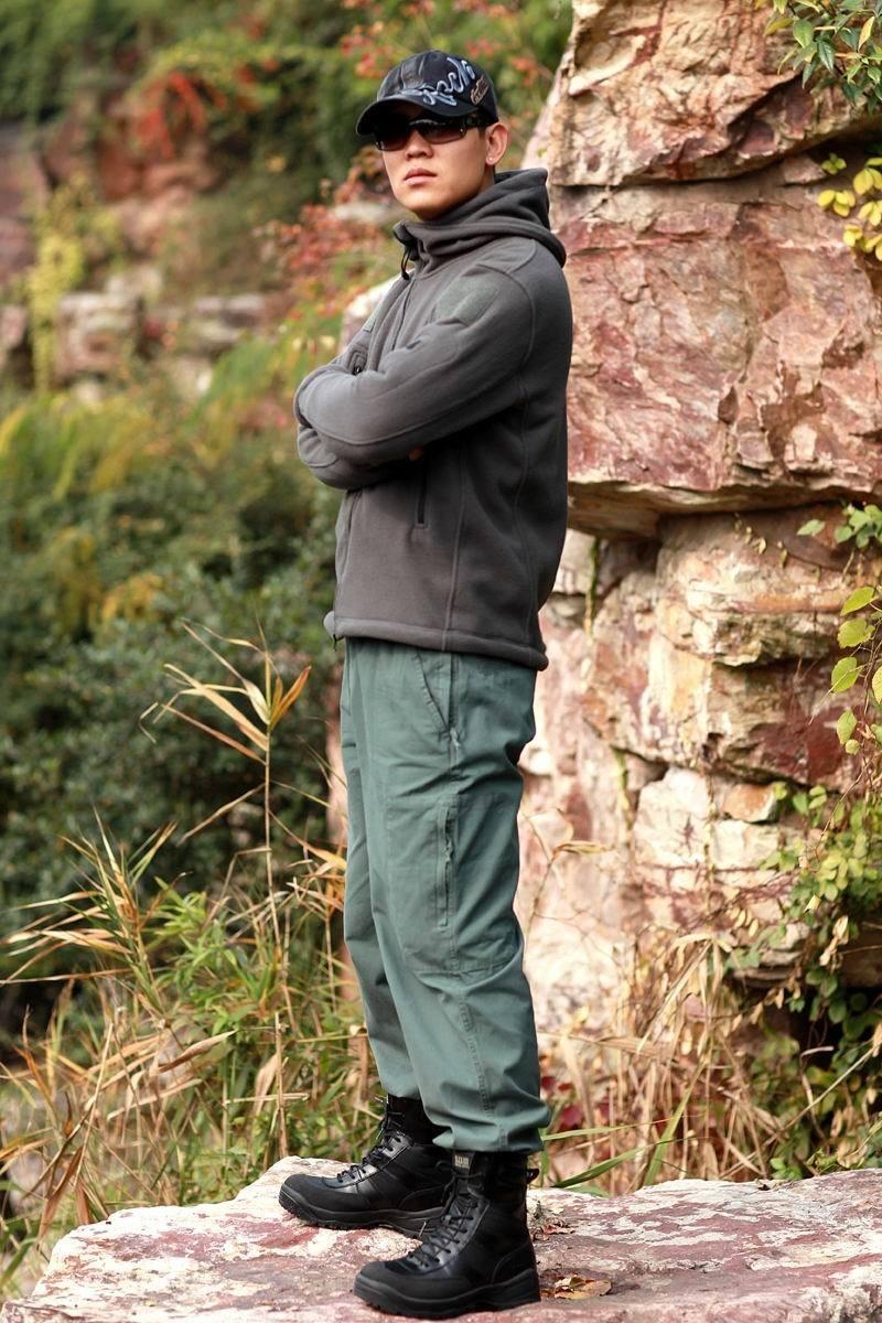 HTB13Zy1KASWBuNjSszdq6zeSpXa8 Military Man Fleece Tactical Softshell Jacket Polartec Thermal Polar Hooded Outerwear Coat Army Clothes