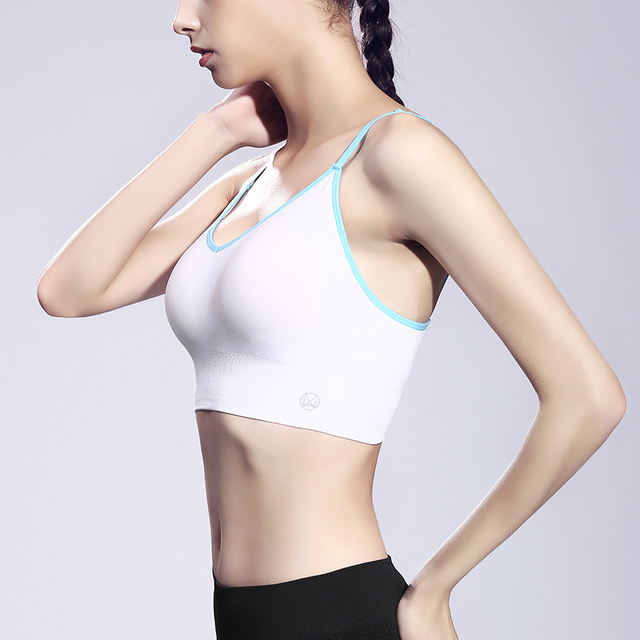 Women's Gym Fitness Yoga Top Stretch Seamless Sports Bras Women Summer Push Up High waist Workout Running Breathable Sports Bra