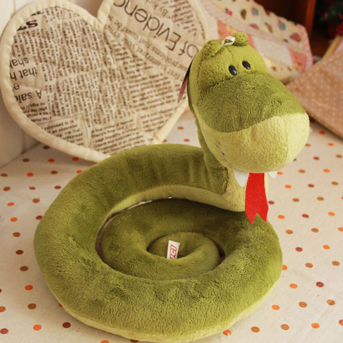 candice guo! Super cute plush toy Nici couple snake tongue soft small doll stuffed toy creative lover birthday Christmas gift 1p