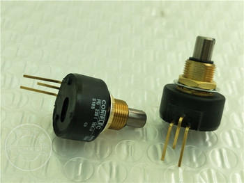 Original new 100% Switzerland import PD2201 10K/J PD220I PD220I10K swiss potentiometer 10K gold-plated feet (SWITCH)