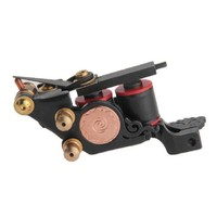 Top Sale Cast Iron Tattoo Machine Gun 10 Wrap Coils Liner Shader Professional Durable Low Noise