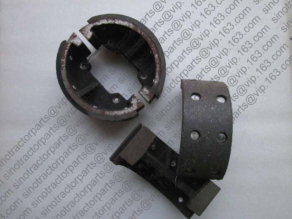 Lenar 254 274 tractor parts, the brake shoes for one tractor, part number: