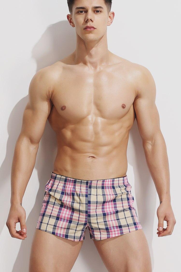 Humor Unterwäsche Männer Boxer Mesh U Pouch Sexy Unterhose Baumwolle Hosen Badehose Boxer Shorts Homosexuell Männlichen Höschen Heißer Bademode Männer Schwimmen Sport & Unterhaltung