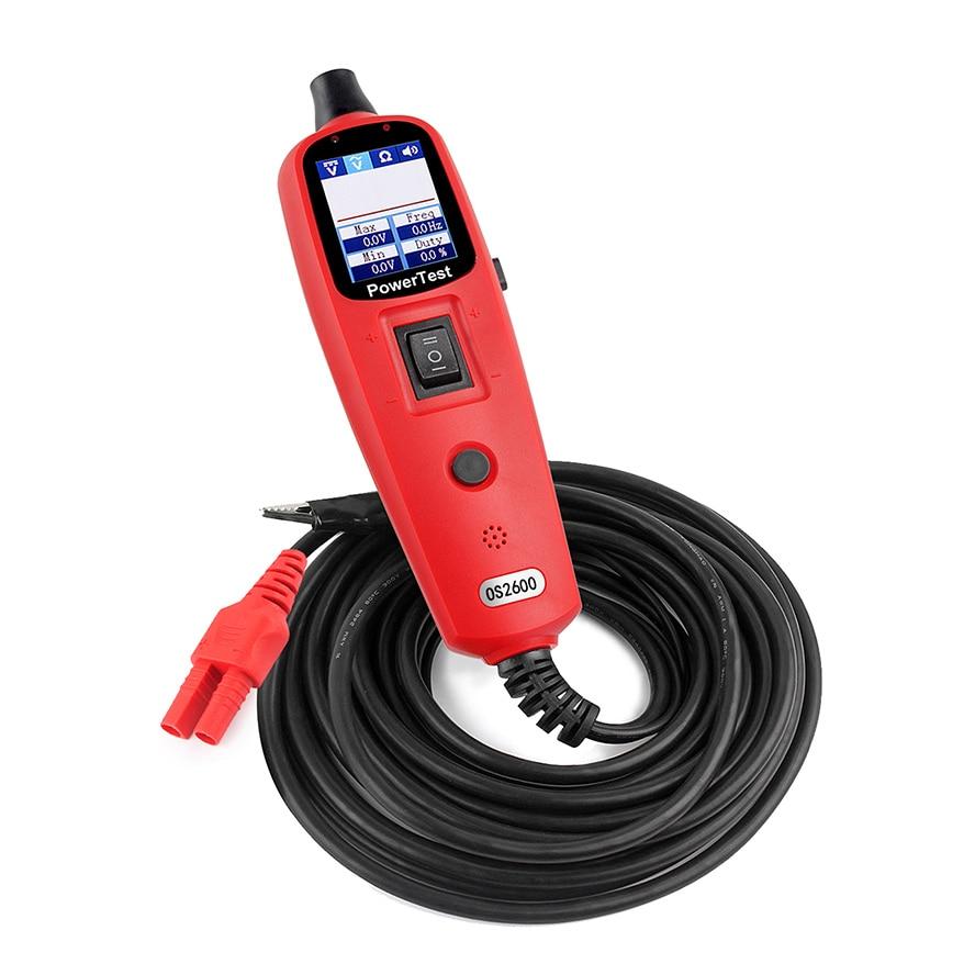 power prob os2600 car 12v 24v electric circuit tester tool power rh aliexpress com