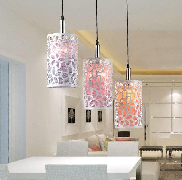 3 jefe de salón decoración de la lámpara colgante comedor lámpara ...
