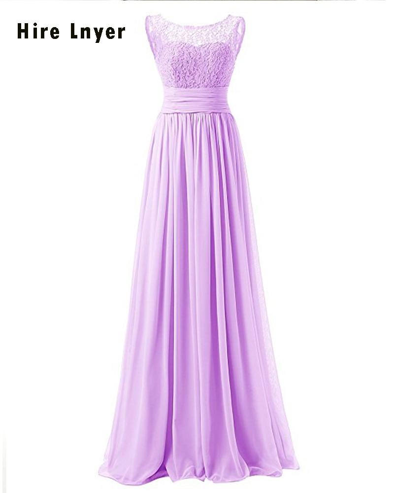 Najowpjg Custom Made Lilac Navy Blue Dark Red Yellow Mint Pink Purple Grape Lace Chiffon Pleat