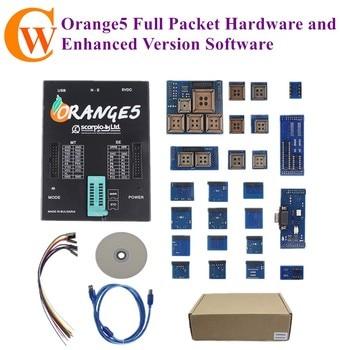 OEM Orange 5 Orange-5 Programmer Full Packet Hardware and Enhanced Version Software