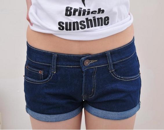 plus size new 2014 summer fashion women denim shorts