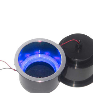 Image 3 - ABS Recessed Drinks Holder with RGB Light for Marine Boat Yacht RV Modified Vehicles