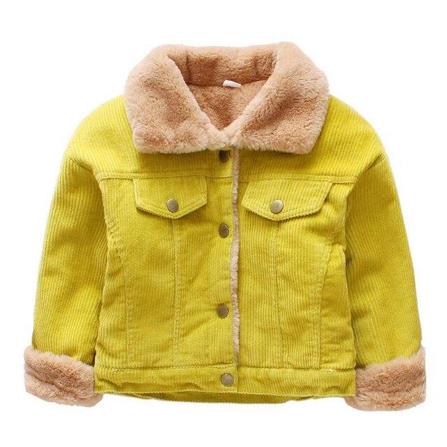 555314ffe746 Winter Jacket for Kids 2017 Infant Toddler Boy Jacket Turn down ...
