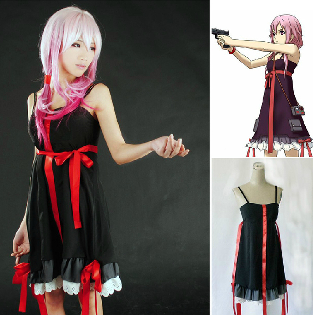New Cheap Guilty Crown Yuzuriha Inori Cosplay Dress Halloween Costume & New Cheap Guilty Crown Yuzuriha Inori Cosplay Dress Halloween ...