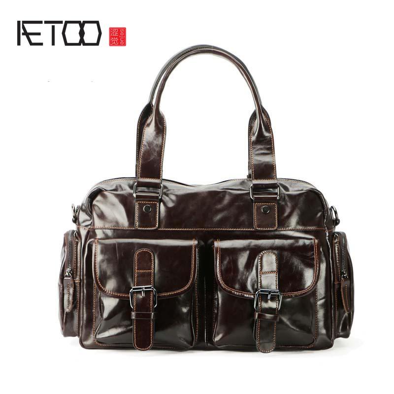 AETOO    Support custom leather men