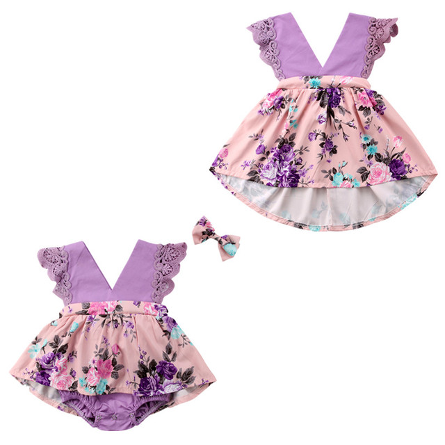 cec7bfbef0d4 Family Matching Outfits Toddelr Kids Baby Girls Sister Matching Floral  Jumpsuit Romper Dress Outfits Set