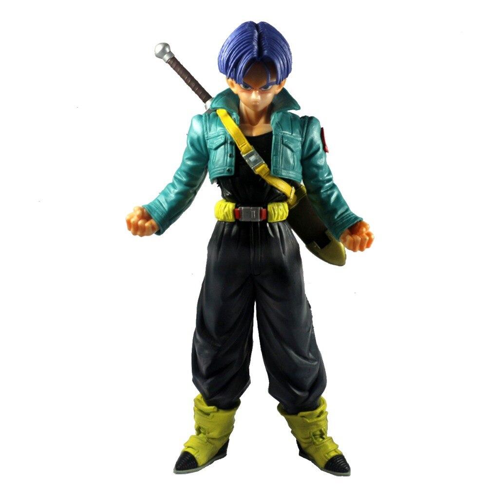 Listado de Personajes DBZ-Dragon-Ball-Z-Super-Saiyan-Trunks-10-Asamblea-Figura-de-Juguete-de-PVC-Modelo-Anime