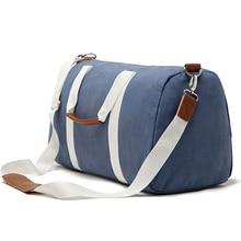 Canvas Fitness Gym Bag Men Training Sports Bag Women Traveling Shoulder Bag Multi-functional Handbag
