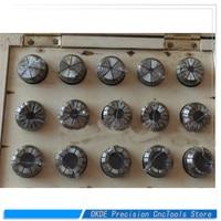 Conjunto pinça incluindo 18 ER32 pcs er32 pinça chuck|Suporte p/ ferramenta| |  -