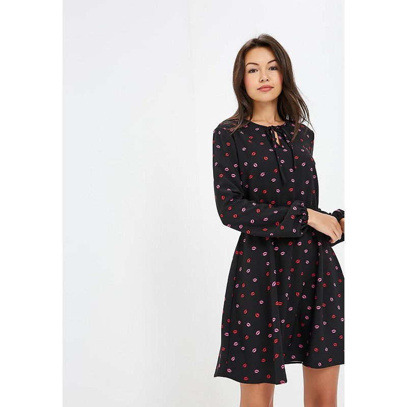 Dresses MODIS M182W00204 dress cotton clothes apparel casual for female for woman TmallFS dresses befree 1731067548 woman dress cotton long sleeve women clothes apparel casual spring for female tmallfs