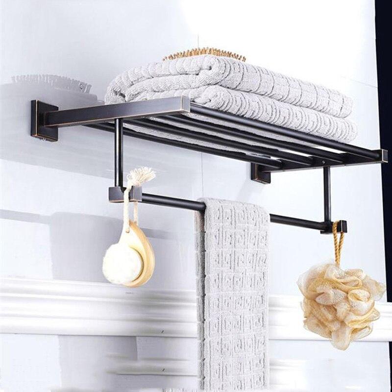 Double Towel Rails Bathroom Racks
