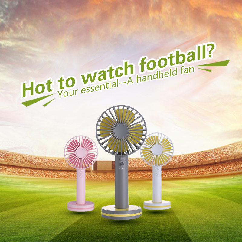 TINTON LIFE 2000mAh Portable Hand Fan For Creative Macaron Powerful Rechargeable Cooling Fan With Cosmetic Mirror tinton life zero9 usb 2000mah rechargeable portable bladeless fan handheld mini cooler no leaf handy fan with 3 fan speed