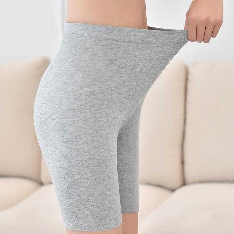 NEW 2019 solid short   leggings   cotton women 9-88 feminino female insurance XTN6-1-XTN-8