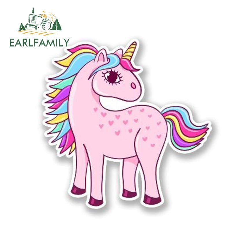 UNICORN Sticker Horse Cute Animal Vinyl Window Decal