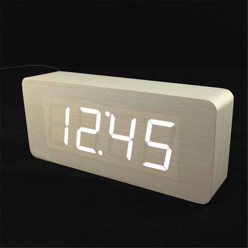 Veliki brojevi Digitalni satovi Vrhunske budilice s temperaturom, - Kućni dekor - Foto 2