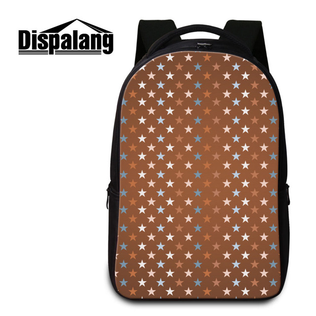 52e84d65929d Dispalang Men Women Lightweight Travel Backpack Stars Print School Bags For  Teenagers Laptop Shoulder Bag Notebook Rucksack-in Backpacks from Luggage    Bags ...