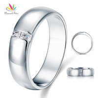 Men S Wedding Band Solid 925 Sterling Silver Christmas Present Gift Ring CFR8050