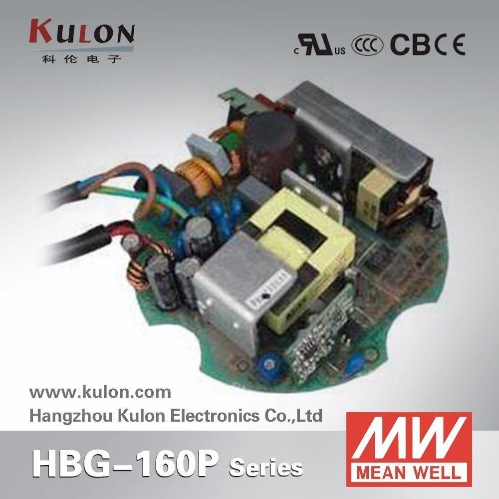 все цены на Original Meanwell constant current LED driver Circular shape PCB type HBG-100P-60 96W 2A 37V LED power supply онлайн