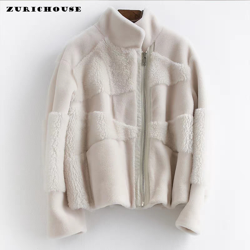 Women's Wool Fur Jacket Winter Natural Lamb Coat Women Clothes 2019 New Arrival Short Genuine Sheepskin Winter Jackets And Coats