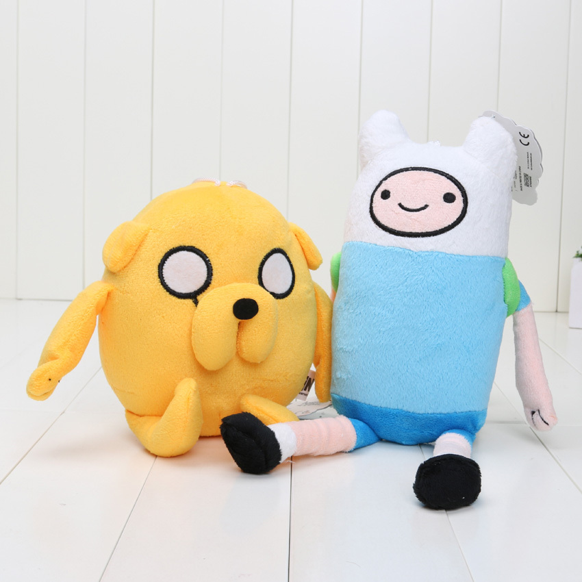 10styles-Adventure-time-Plush-Toys-Jake-Finn-Beemo-BMO-Penguin-Gunter-Stuffed-Animals-Plush-Dolls-Soft-Toys-3