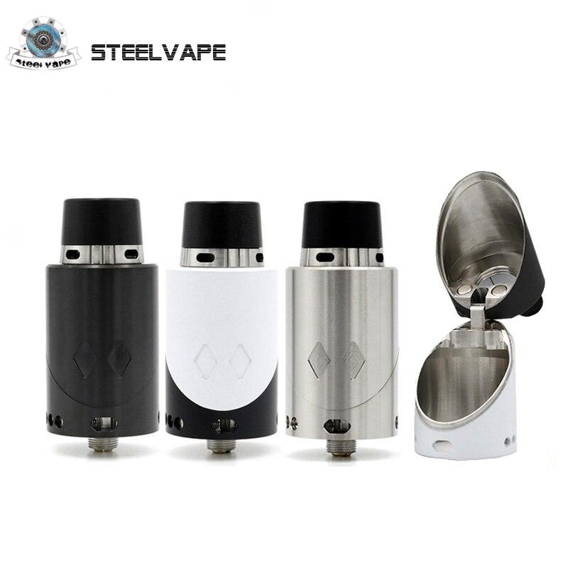Оригинальный Steelvape EX Rda распылителя три типа капельного советы 25 мм 510 Нитки вапоризатора для электронных сигарет поле моды электронной сига…