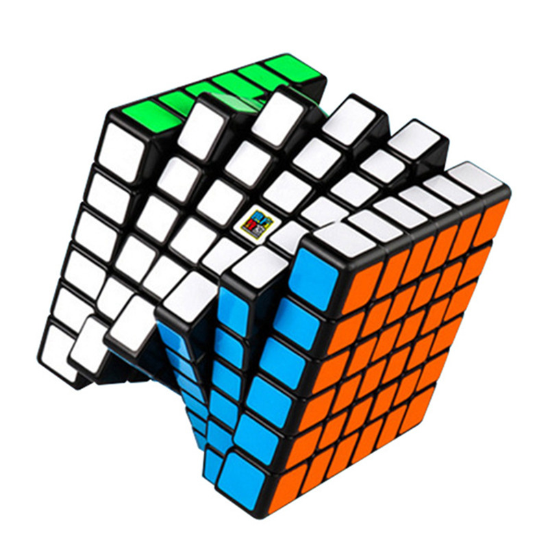 MOYU 68MM MF6 6X6X6 Magic Cube 3 Colors Puzzle Professional Speed Cube Magico Educational Toy For Children Cube With Free StandMOYU 68MM MF6 6X6X6 Magic Cube 3 Colors Puzzle Professional Speed Cube Magico Educational Toy For Children Cube With Free Stand