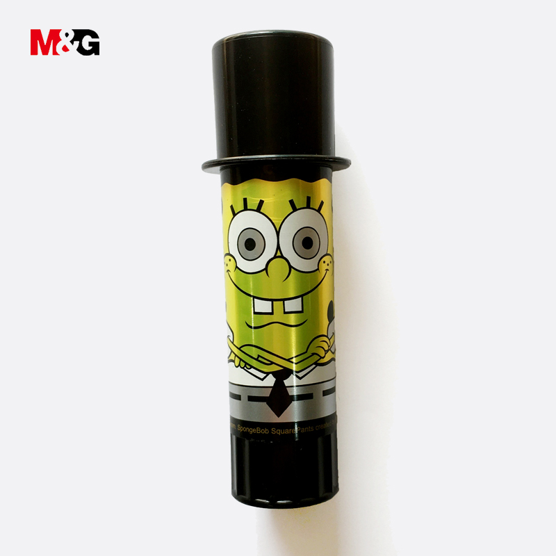 M&G Creative Cute Spongebob Cartoon Pattern Glue Stick For School Kid Office Organizer Supply Kawaii Strong Adhesive Solid Glues