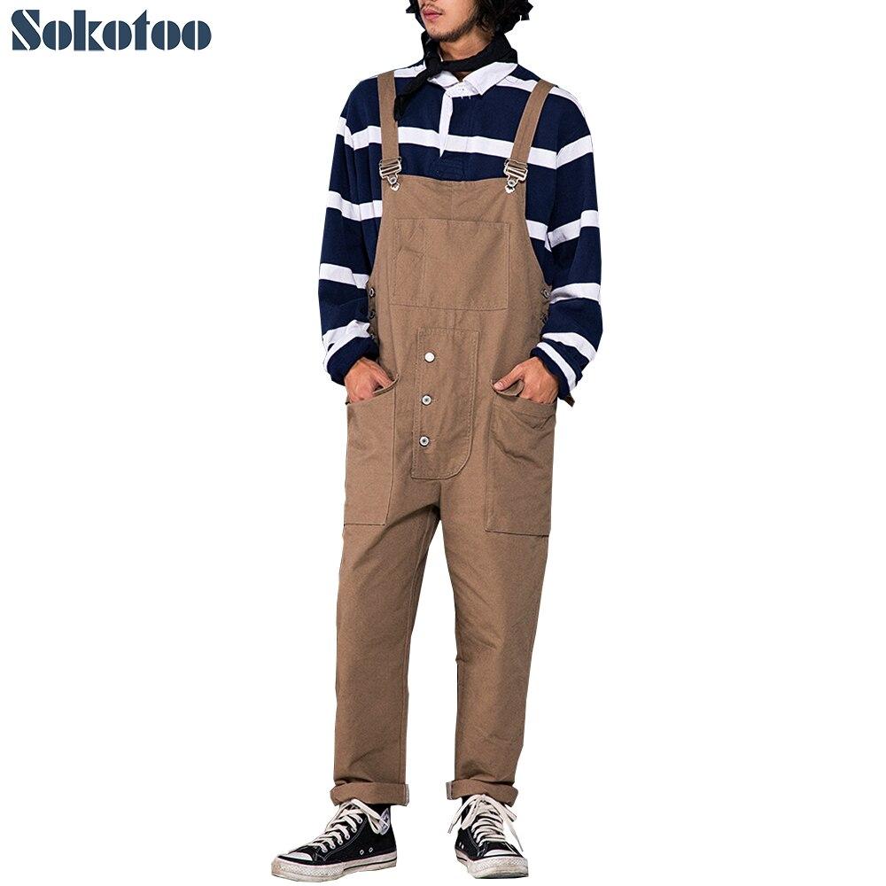 LZJN Men s Casual Pants Black Linen Cross Pants Coffee Crotch Pants For Male Long Trousers