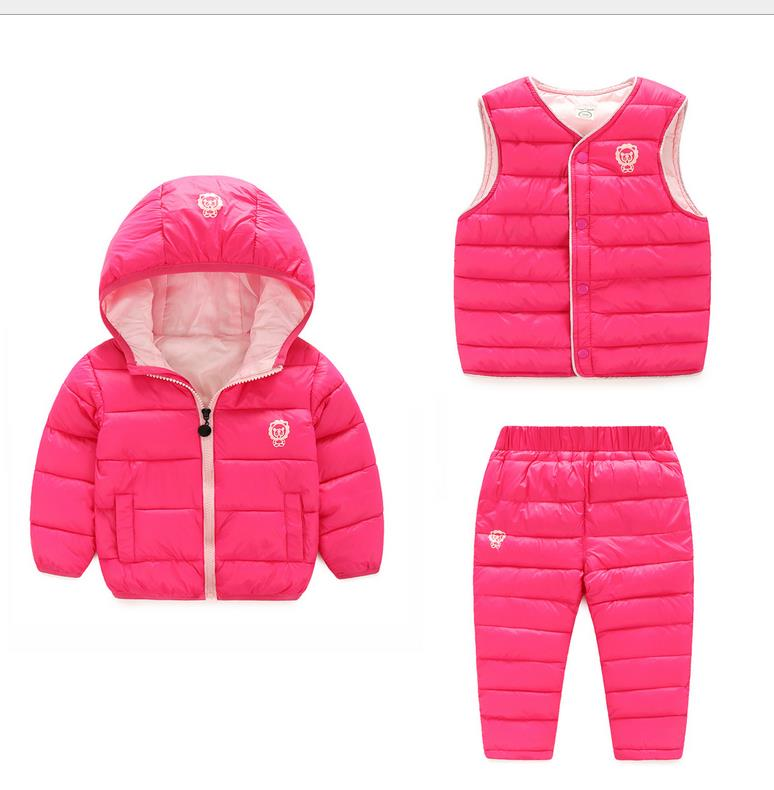 2016 China factory Russia winter Parka padding jackets +trousers+ overcoat clothing sets for boys ski suit , reima baby snowsuit 2016 winter boys ski suit set children s snowsuit for baby girl snow overalls ntural fur down jackets trousers clothing sets