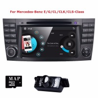 Two Din 7 Inch Car DVD Player For Mercedes Benz E Class W211 E200 E220 E300